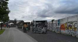 Publikumsmagnet Mauer-Gedenkstätte