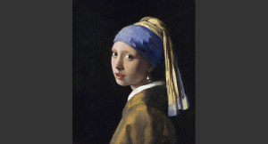 Mädchen mit dem Perlohrring - von Jan Vermeers - gemeinfrei