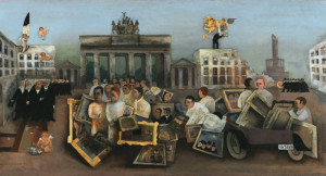 Felix Nussbaum: Der tolle Platz, 1931, © Repro: Kai-Annett Becker