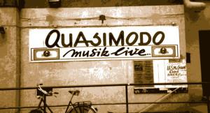 Quasimodo Eingang zum Club - © Quasimodo