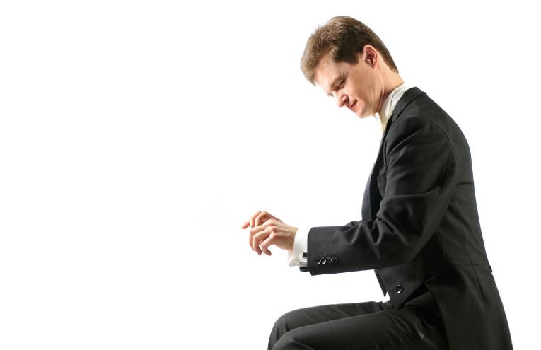 Sami Väänänen am Klavier