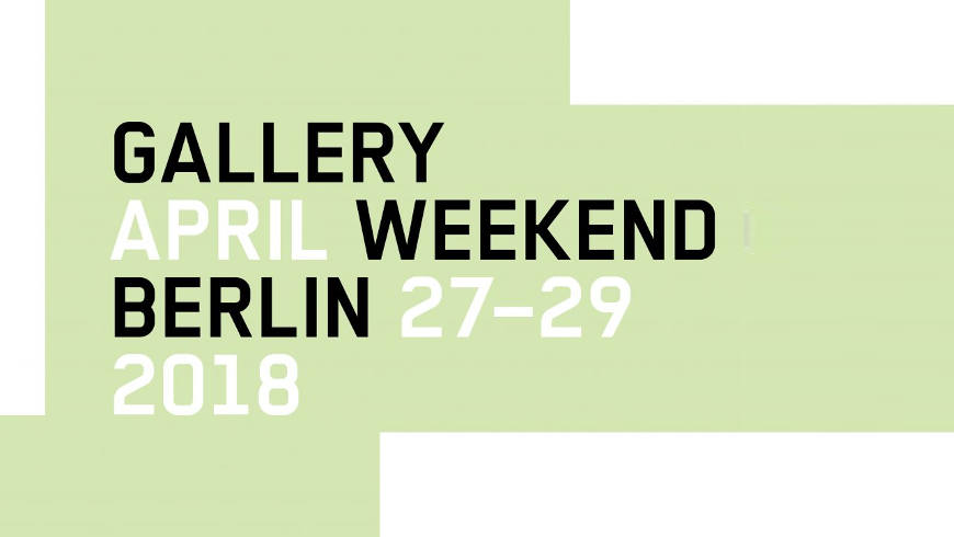 Logo © Gallery Weekend Berlin