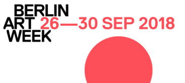 Berlin Art Week 2018